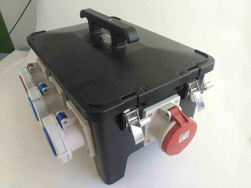 Hard PE Electrical Distribution Box Heavy Duty Molded Rubber Enclosure